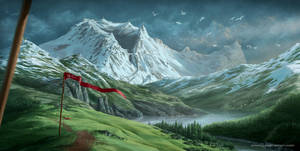 Fienurg Landscape by Aioras
