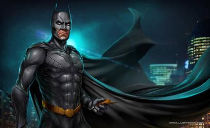 Batman New52 by Aioras