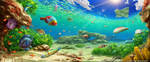 Underwater Painting by Aioras