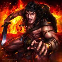 Conan the Cimmerian by Aioras