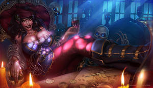 Jessenia the pirate vampire by Aioras