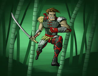 Post Apocalyptic Ninja by OzanAtak