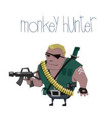 Sergeant The Monkey Hunter by OzanAtak