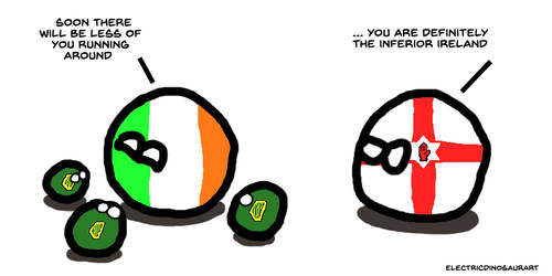 IrelandBalls by ElectricDinosaurArt