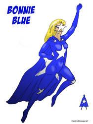 Bonnie Blue by ElectricDinosaurArt