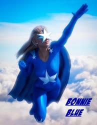 Bonnie Blue by PGandara by ElectricDinosaurArt