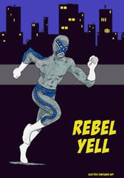 Rebel Yell Grey Variant by ElectricDinosaurArt