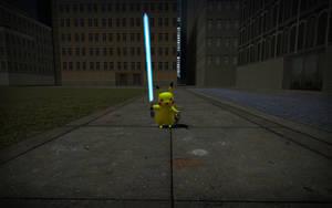 Angry Pikachu Strikes Back by Sergey004
