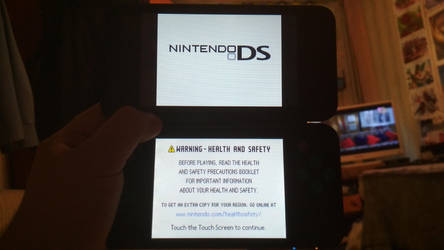 DS Menu on 3DS by Sergey004