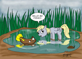 Derpy and the Derpfish by Cartoon-Eric