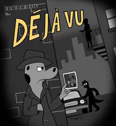 Deja Vu Sam -BW- by Cartoon-Eric