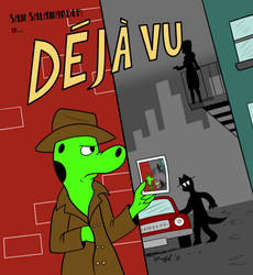 Deja Vu Sam -Color- by Cartoon-Eric