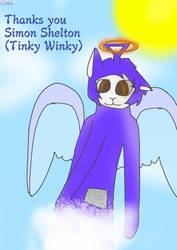 R.I.P : Simon Shelton (Tinky Winky) by Laa-LaaSlendytubbies