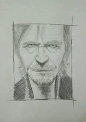 Gary Oldman  by jmarincamara