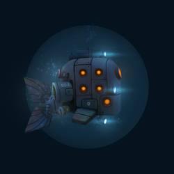 Robotic-whale-submarine by Rimrus