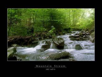 Mountain Stream by rad-ix