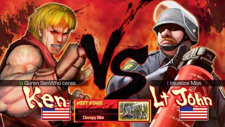 Ken VS Lt John by Pazero