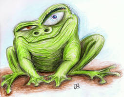 Frog by AirborneTerror