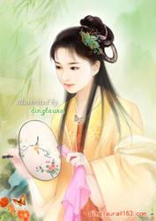 Baochai Catching Butterfly by dinglaura