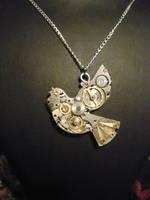 Steampunk Mechanical Dove by lollollol2