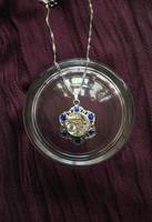 Blue Flower Pendant by lollollol2