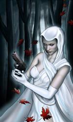 Ghost - Dark Horse by lilyinblue