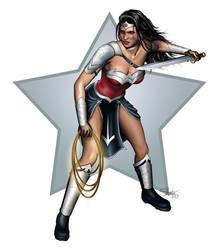 Wonder Woman - Armored by lilyinblue