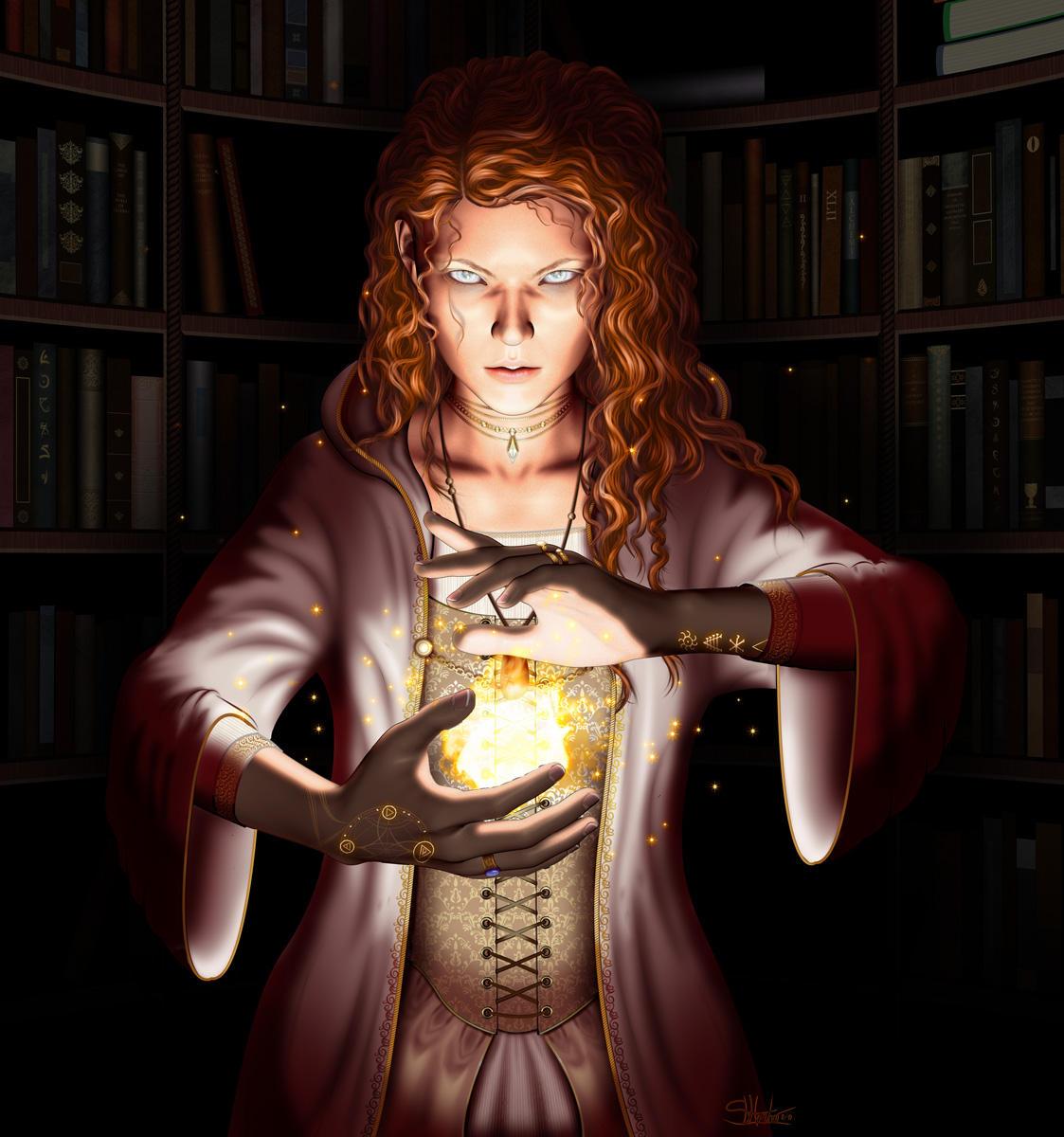 The Magister - Gemstone IV by lilyinblue