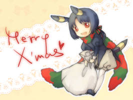 Merry X'mas by eevee-moon