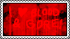 I Heart Blood and Gore Stamp by PogorikiFan10