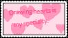 Drawing Hearts Stamp by PogorikiFan10