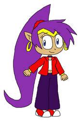 Shantae in Late 90's Clothing by PogorikiFan10
