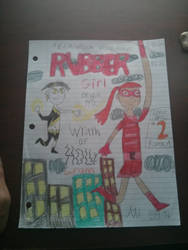 Rubber girl cover atr issue #2 by welchdisney94