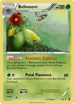 Bellossom card - LM 3/34 by Metoro