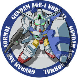 Gundam Age by darksonwong
