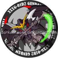 Gundam Deathscythe Hell by darksonwong