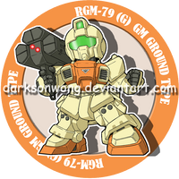 RGM-79 (G) GM GROUND TYPE by darksonwong