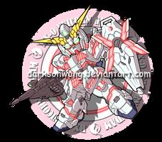 RX-0 UNICORN by darksonwong