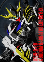 ASW-G-08 GUNDAM BARBATOS LUPUS REX by darksonwong