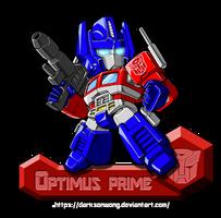 Optimus Prime (Version_G1) by darksonwong