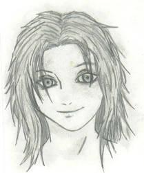 anime girl by THEGODSLAYER91