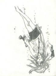 falling girl by THEGODSLAYER91