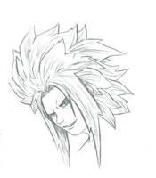 the godslayer DBZ hair by THEGODSLAYER91