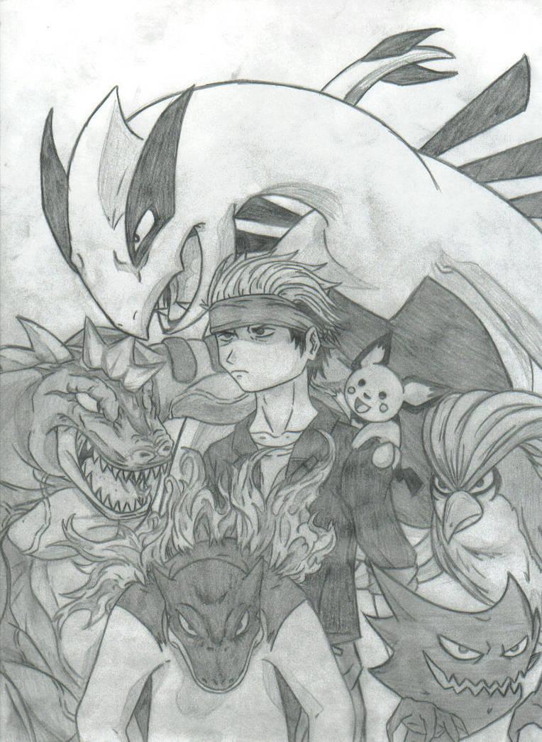 Pokemon team by THEGODSLAYER91