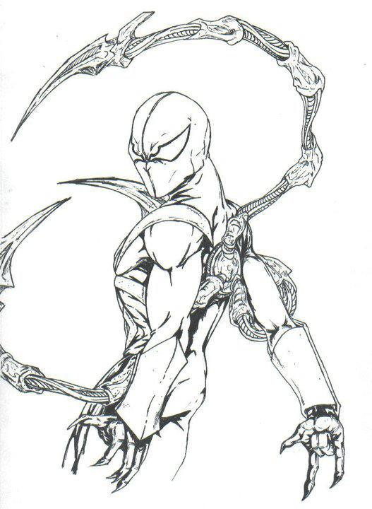 iron spiderman by THEGODSLAYER91