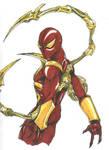 civil war spiderman by THEGODSLAYER91