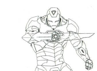 ironman ink by THEGODSLAYER91