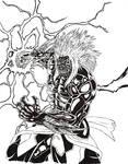 lightning fist by THEGODSLAYER91