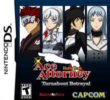 Ruby Rose Ace Attorney - Case 02 - Box Art by IceNinjaX77