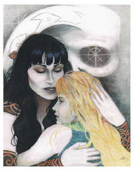 Xena and Gabrielle by Indelibly-Yours